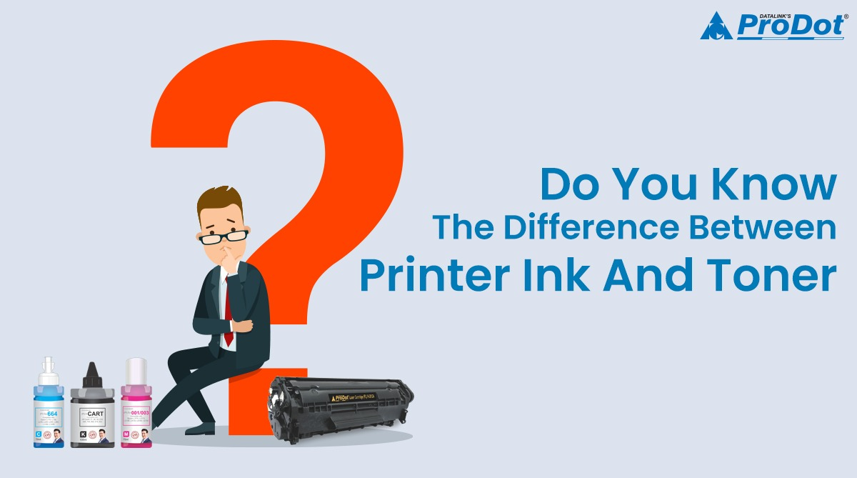 do you know the difference between printer ink and toner