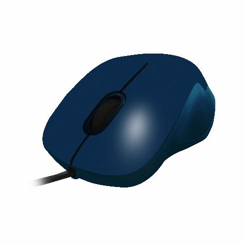 curvy - usb (blue)