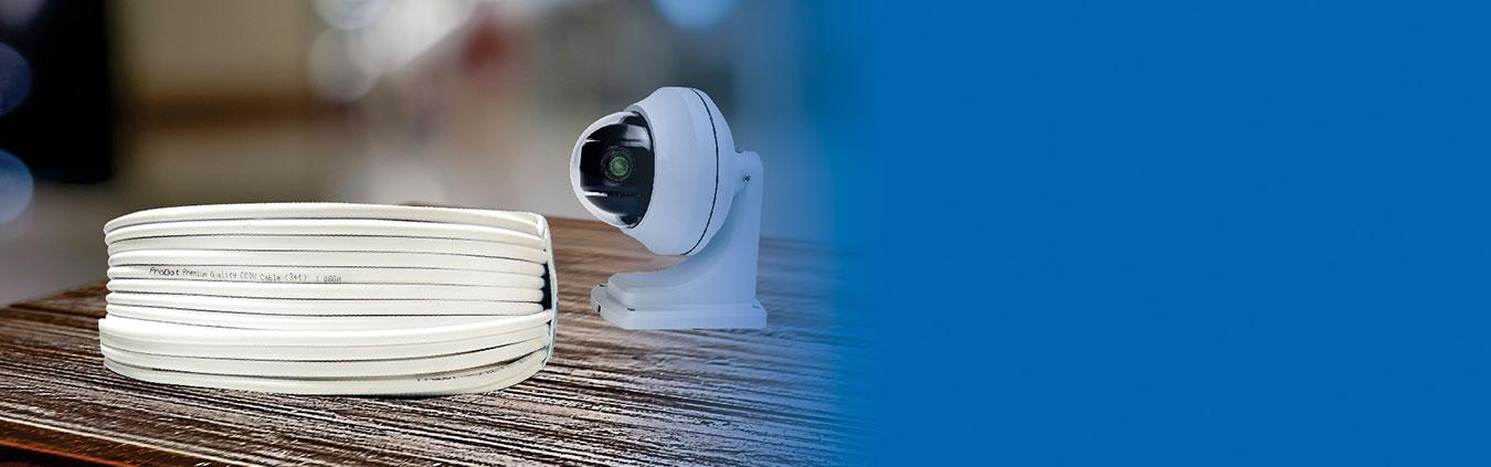 SAS PREMIUM CCTV CABLE (3+1) 90M