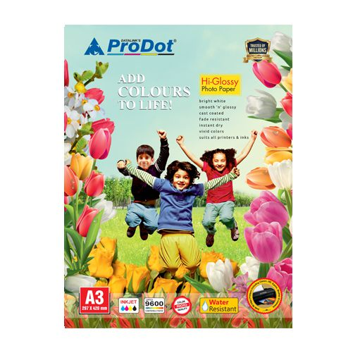 180 gsm photo glossy 50 a3